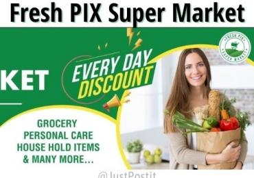 Fresh pix supermarket