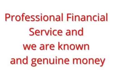 Professional Financial Services and we are known and genuine money