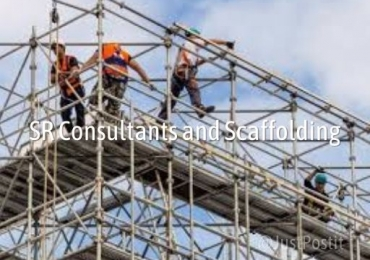 SR consultants and scaffolding