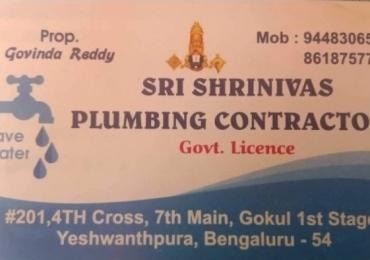 Sri srinivas plumbing contractor